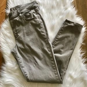 American Eagle Oufitters size 14 tan jegging